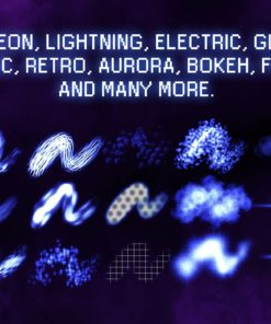 30 procreate glow brushes 13 download now brushes pack