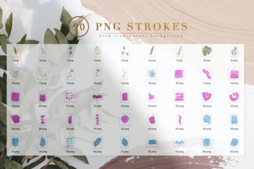 90 procreate photoshop brushes 3 download now brushes pack