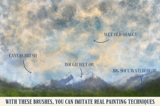 art brushes for procreate 2 download now brushes pack