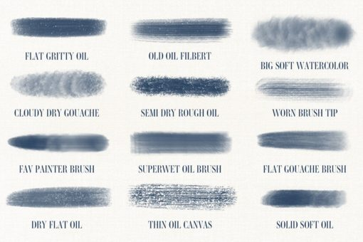 art brushes for procreate 4 download now brushes pack