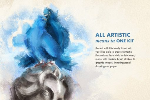 artista procreate brushes 5 download now brushes pack