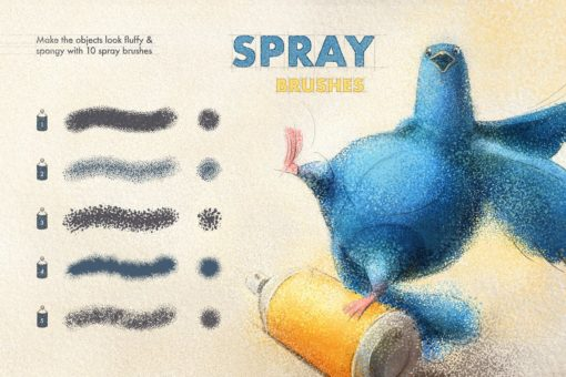 artista procreate brushes 7 download now brushes pack