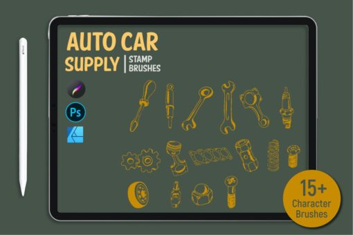 auto car supply stamp brushes 2 download now brushes pack