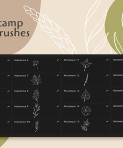 autumnue procreat brushes 5 download now brushes pack