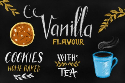 chalk letterer box for procreate 3 download now brushes pack