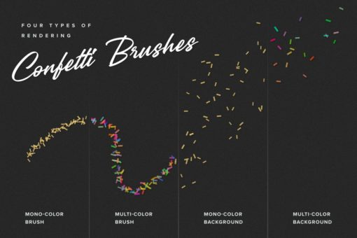 confetti and glitter procreate brushes pack 3 download now brushes pack