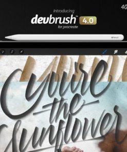 devbrush for procreate bundle 2 download now brushes pack