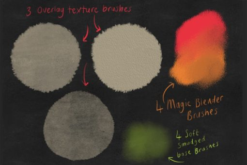 dry media pro charcoal and chalk procreate brushes 2 download now brushes pack