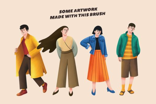esteros procreate illustration brushes 1 download now brushes pack