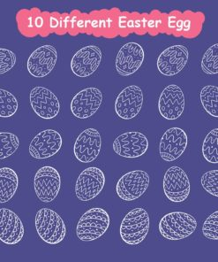 easter stamp procreate brushes 6 download now brushes pack
