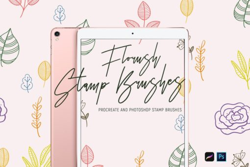 florush stamp brushes 1 download now brushes pack