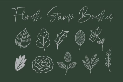 florush stamp brushes 2 download now brushes pack