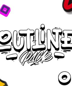 outline brushes for procreate download now brushes pack