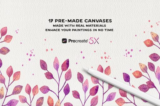 procreate paper texture canvases 8 download now brushes pack
