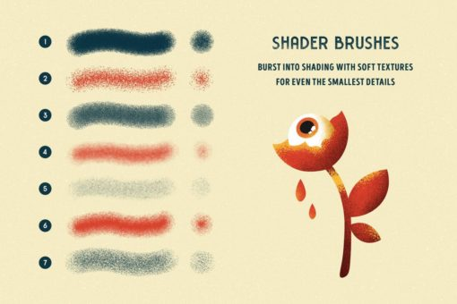 shader brushes for affinity 9 download now brushes pack