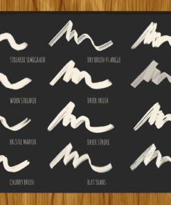 bistro markers for procreate 3 download now brushes pack