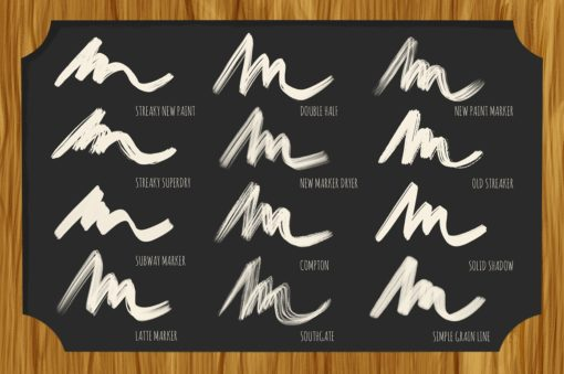 bistro markers for procreate 4 download now brushes pack