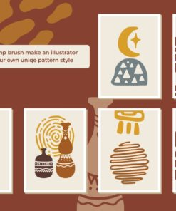 bohoism procreate stamp brush 3 download now brushes pack