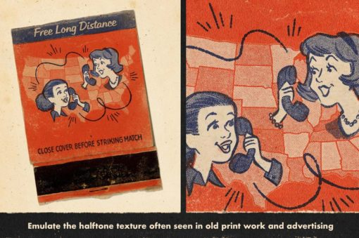 duplitone halftones for procreate 11 download now brushes pack