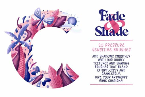 fade shade brush set tutorials 10 download now brushes pack