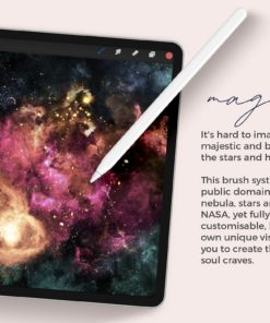 galaxy brushes for procreate 2 magical copy download now brushes pack