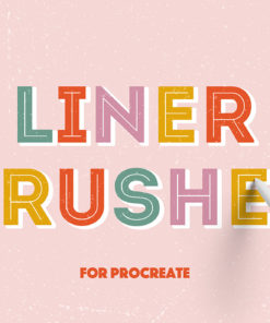 liner procreate brushes download now brushes pack