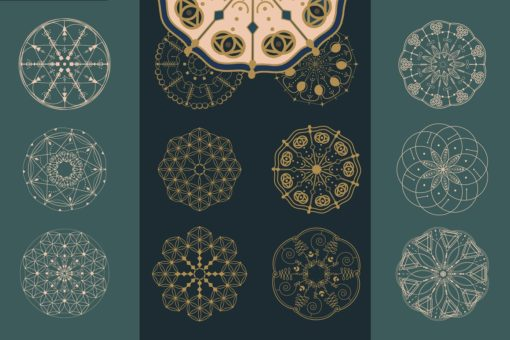 mandala brushes for procreate 1 download now brushes pack