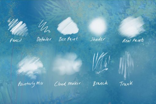 nature studio procreate brushes 2 download now brushes pack