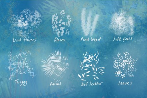 nature studio procreate brushes 4 download now brushes pack