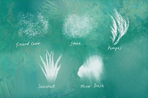 nature studio procreate brushes 6 download now brushes pack