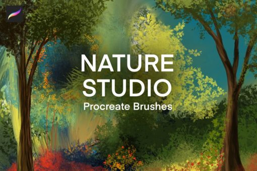 nature studio procreate brushes download now brushes pack