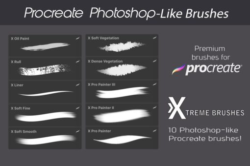 procreate texture brushes bundle 1 download now brushes pack