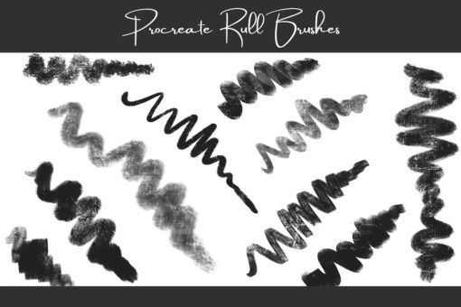 procreate texture brushes bundle 6 download now brushes pack