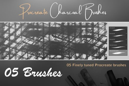 procreate texture brushes bundle 7 download now brushes pack