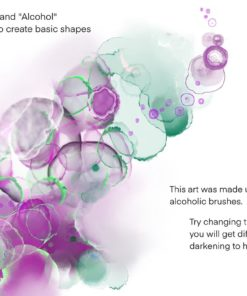 sale galaxy alcohol ink brushset 3 download now brushes pack