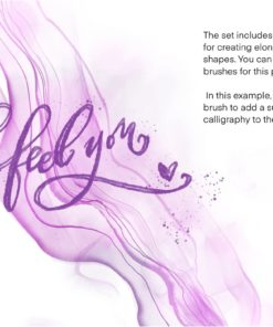 sale galaxy alcohol ink brushset 4 download now brushes pack