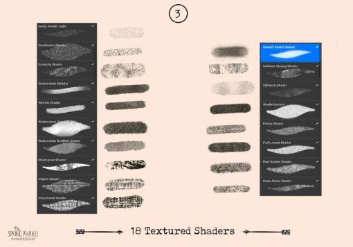 spring market procreate brushes 3 download now brushes pack