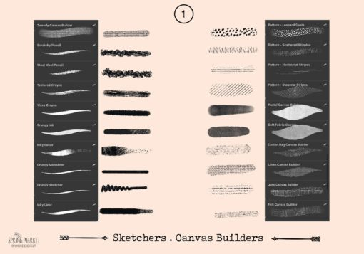 spring market procreate brushes 4 download now brushes pack
