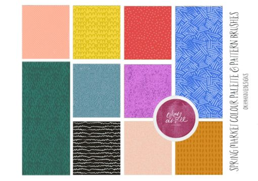 spring market procreate brushes 7 download now brushes pack