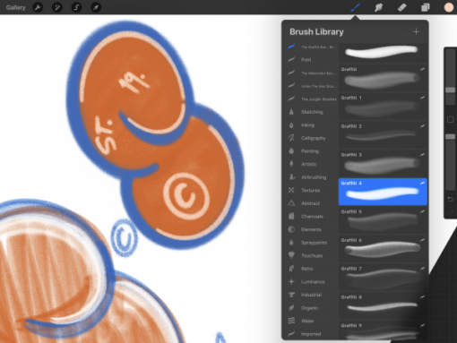 the graffiti box procreate brushes 2 download now brushes pack