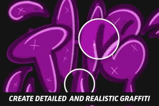 the graffiti box procreate brushes 4 download now brushes pack