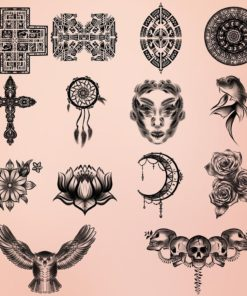 tattoo brushes for procreate 1 download now brushes pack