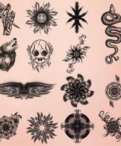 tattoo brushes for procreate 2 download now brushes pack