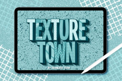 texture town brush set for procreate download now brushes pack