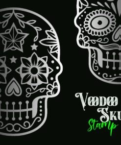 voodoo glow skull stamp brushes 1 download now brushes pack