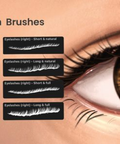 portrait bundle for procreate display lashes download now brushes pack