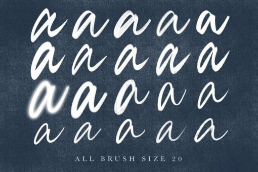 procreate brush calligraphy esfzudg 2 download now brushes pack