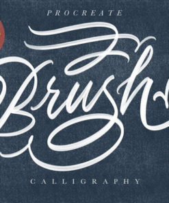 procreate brush calligraphy esfzudg download now brushes pack