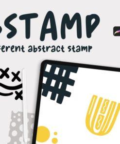 abstamp abstract stamp brush brushespack