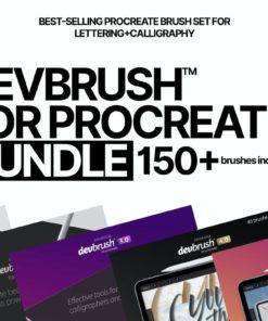 devbrush for procreate bundle brushespack